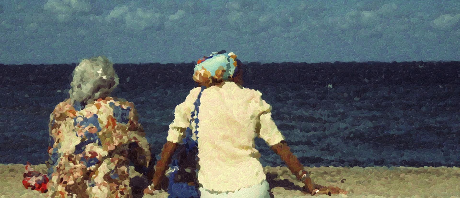 Retrato Junto al Mar