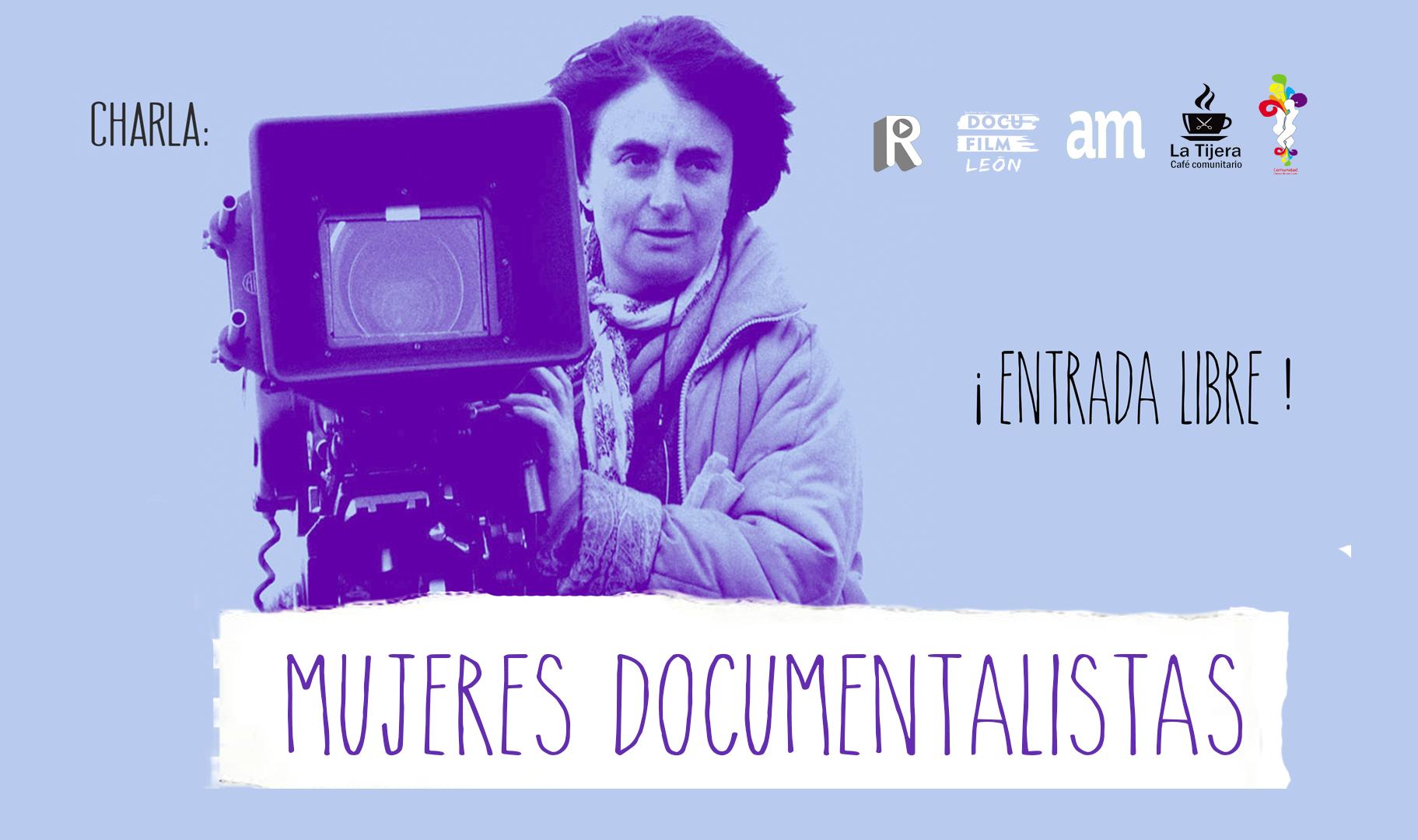 Charla Mujeres Documentalistas