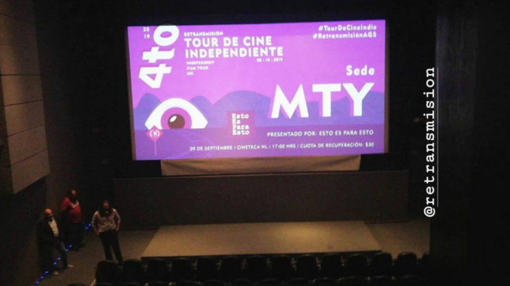 Emiliano Caballero Tour de Cine Independiente Retransmisión en Cineteca Nuevo León, Monterrey