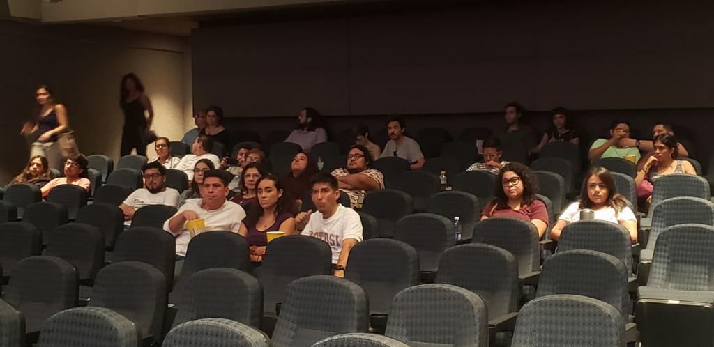 Emiliano Caballero Tour de Cine Independiente Retransmisión en Cineteca Nuevo León, Monterrey 2
