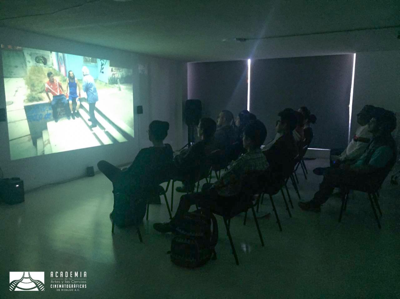 Retransmisión en la Academia de las Artes y Ciencias Cinematográficas de Hidalgo 2