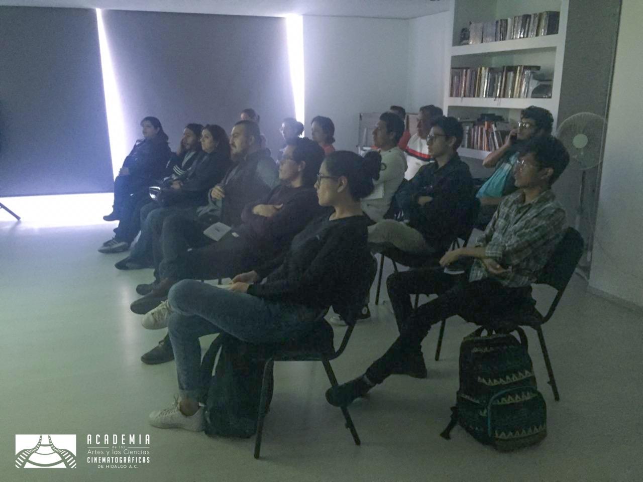 Retransmisión en la Academia de las Artes y Ciencias Cinematográficas de Hidalgo