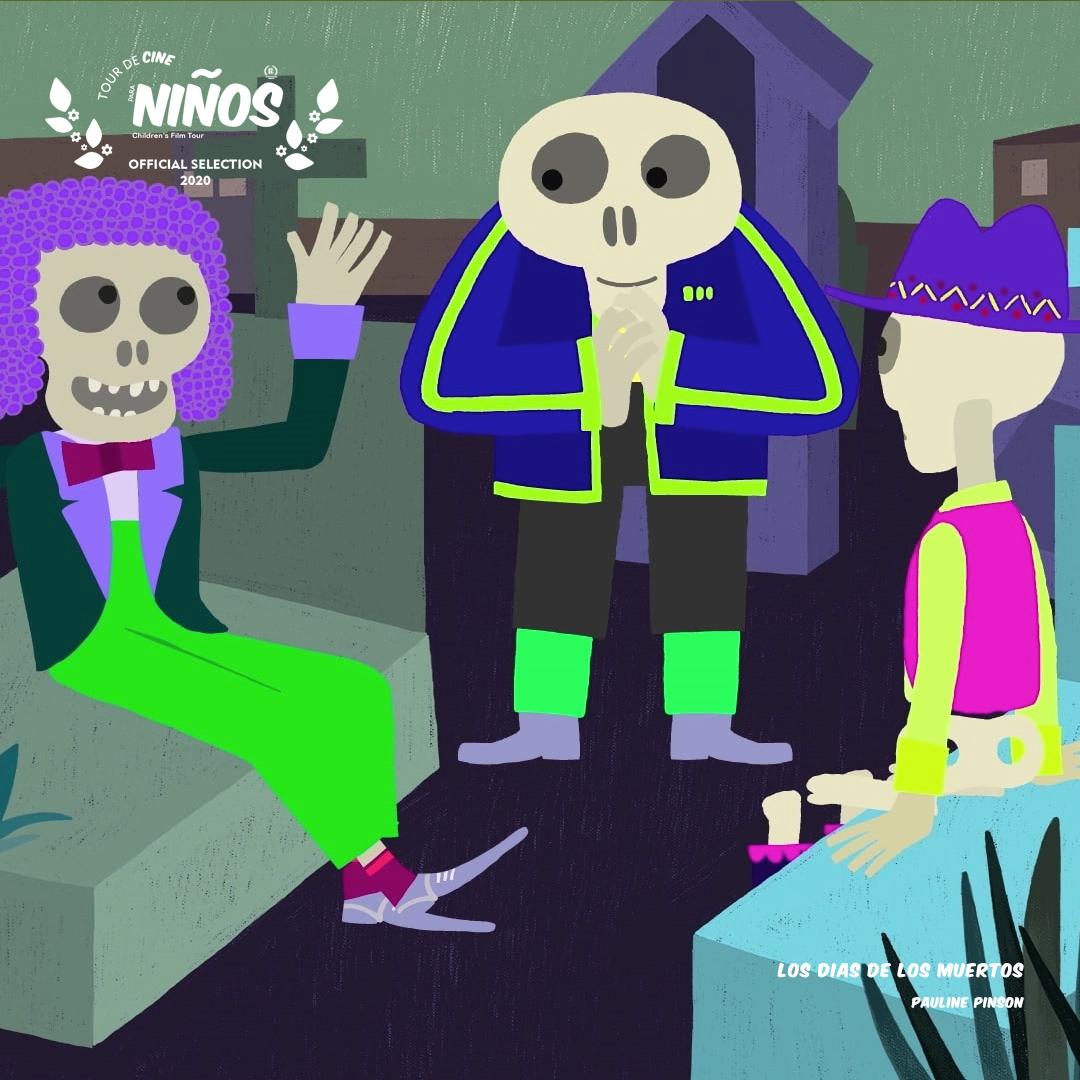 Los-Dias-de-los-Muertos-Tour-de-Cine-Para-Ninos-Retransmision-2020-Mexico